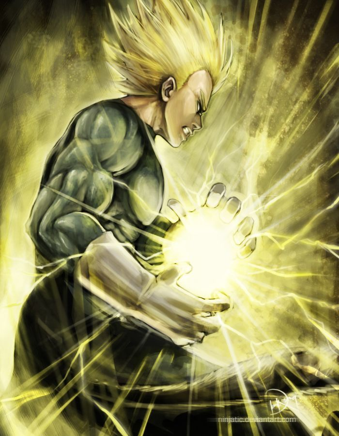 Vegeta SSJ DeviantArt - Dragon Ball