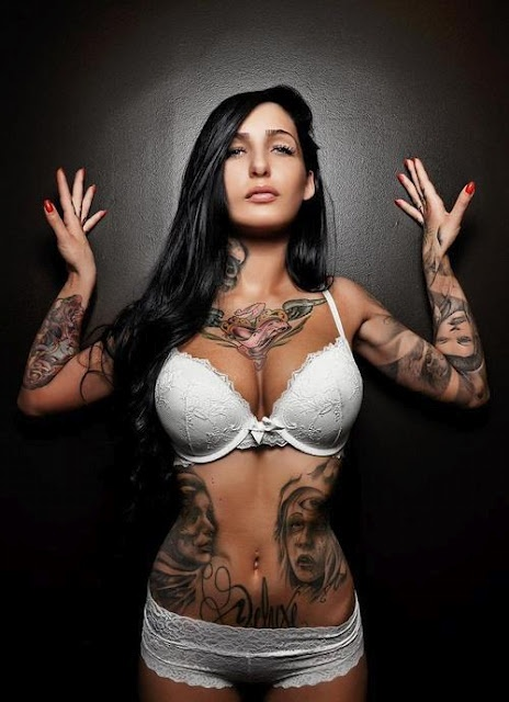 #Tattoo Ink Inked Girls Tattooed Girls Hot Girls Art tattoos