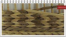 Плетение веревочкой из газетных трубочек. Подробный мастер класс .