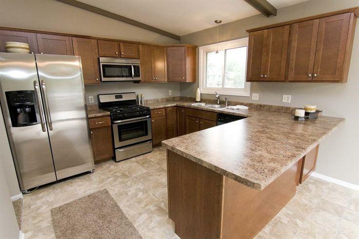 12 best new house kitchen images on pinterest kitchen for Split foyer kitchen