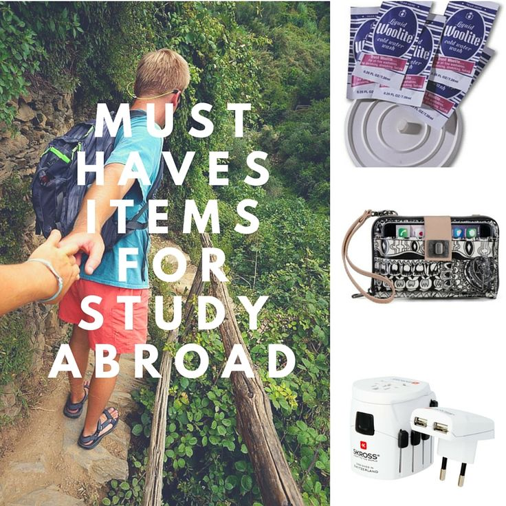 The Study Abroad Packing List - What to Pack | The Study ...