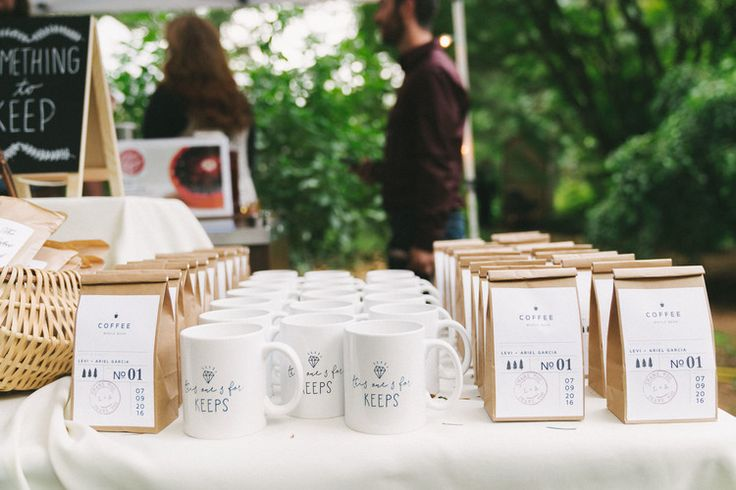 Unique wedding favor, affordable wedding favors, coffee wedding favors, wedding…