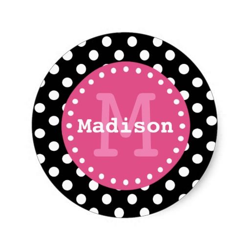 17 Best images about Monogram and Name Stickers on ...