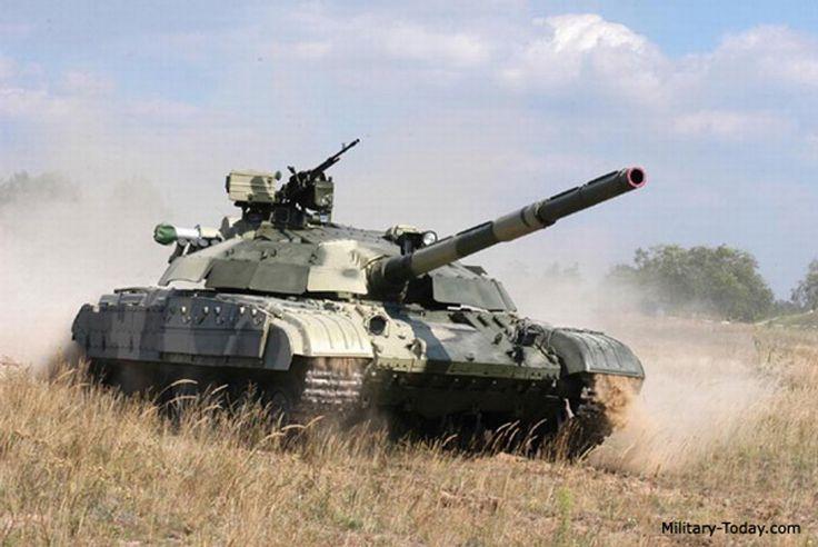 Tank photo T-64 Ukrainian Bulat MBT
