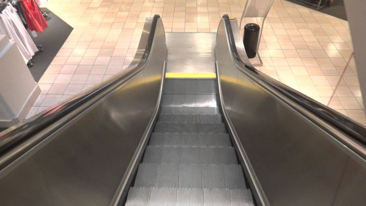 Montgomery Escalators - Nordstrom via Westfield North County Fair Mall -...