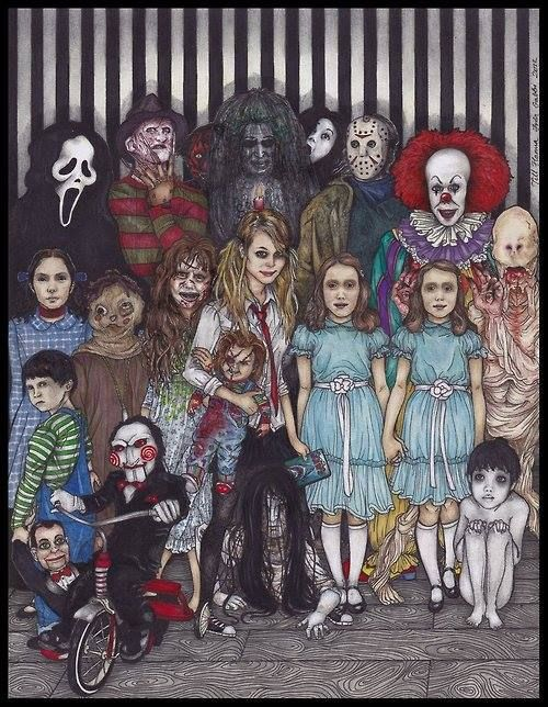 Full Dead - ARTISTA - PERSONAGENS DE TERROR!
