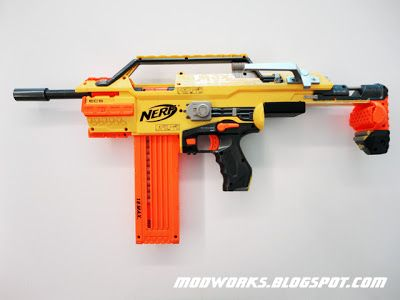 "Mod Works: Nerf Stampede ""Brass Breech"" Mod Guide!"