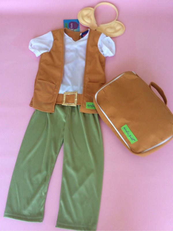 Roald Dahl The BFG Fancy Dress Outfit Costume World Book day Age 3/4 years
