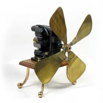 first electric fan, 1882