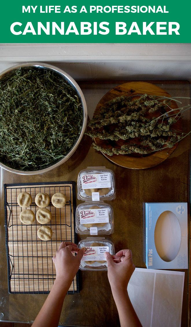 """""""I decided I would never to go back to a corporate environment."""" A 45-year-old professional cannabis baker based in Los Angeles talked to BuzzFeed about her job. She asked to remain anonymous."""