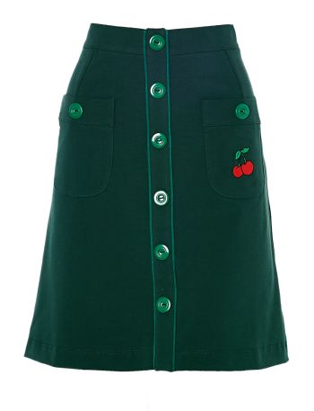 Skirt Dark Green