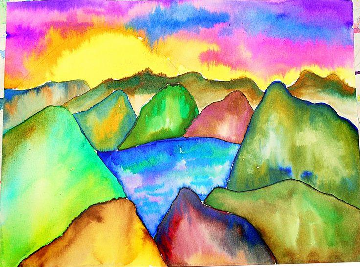 smART Class: Watercolor Landscapes