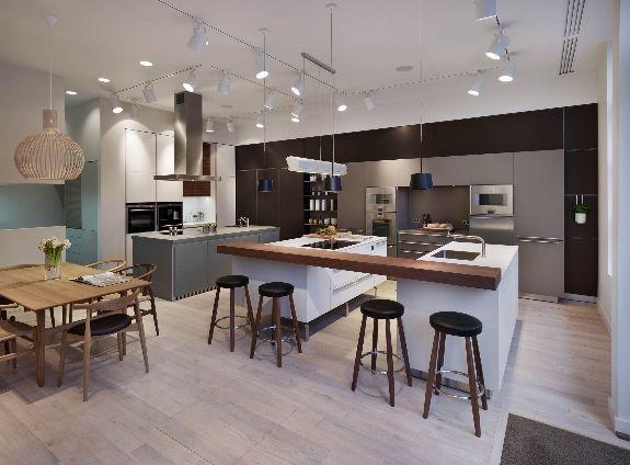 Mejores 16 imágenes de Kitchen Architecture\'s bulthaup showroom in ...