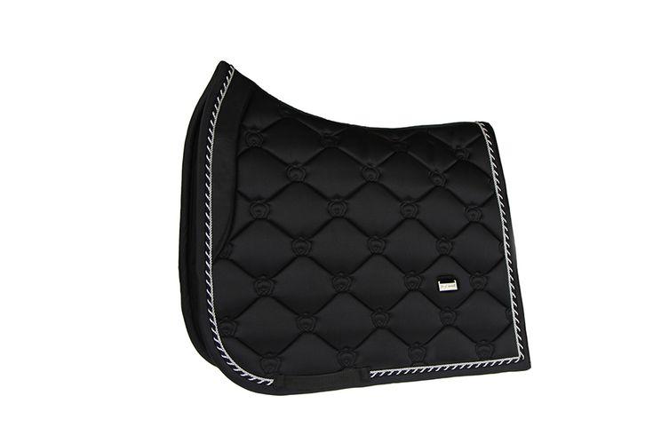 PS of Sweden black dressage saddle pad