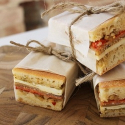 Italian pressed sandwiches. Need I say more?