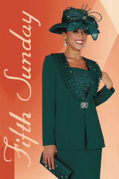 Church Suits for Women | Plus Size Church Suits for Women BenMarc Fifth Sunday Suit 52515 image