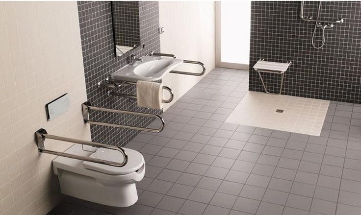 Diseño de baños para discapacitados