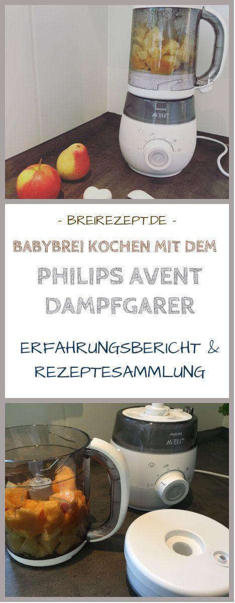 Erfahrung und Testbericht zum Kochen von Babybrei mit dem Philips Avent Dampfgarer 4 in 1 sowie viele passende Rezepte für den Babybrei Dampfgarer: https://www.breirezept.de/philips-avent-dampfgarer.php