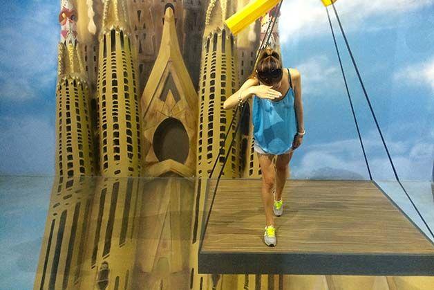 la galerie des illusions Sagrada Familia