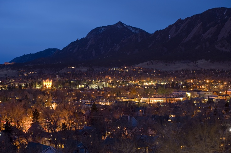 My hometown, Boulder, CO.  Nothing compares