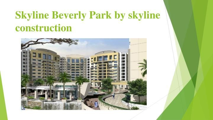 Skyline Beverly park is one of the most famous projects of skyline construction and housing private limited and this is the  spread over an area of 4 acres which is meant for residential area. \nhttps://goo.gl/l2TKYP