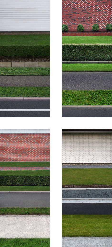 This photo shows order because of the many different layers. They are all of the same size and shape, but are photographs of different things. They have also been ordered to show the wall on top, then the grass and then the path/road. It is quite similar to Gursky's Rhein II image.