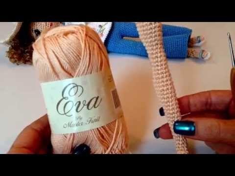 Como tejer muñeca Liliana en amigurumi PRIMERA PARTE - YouTube
