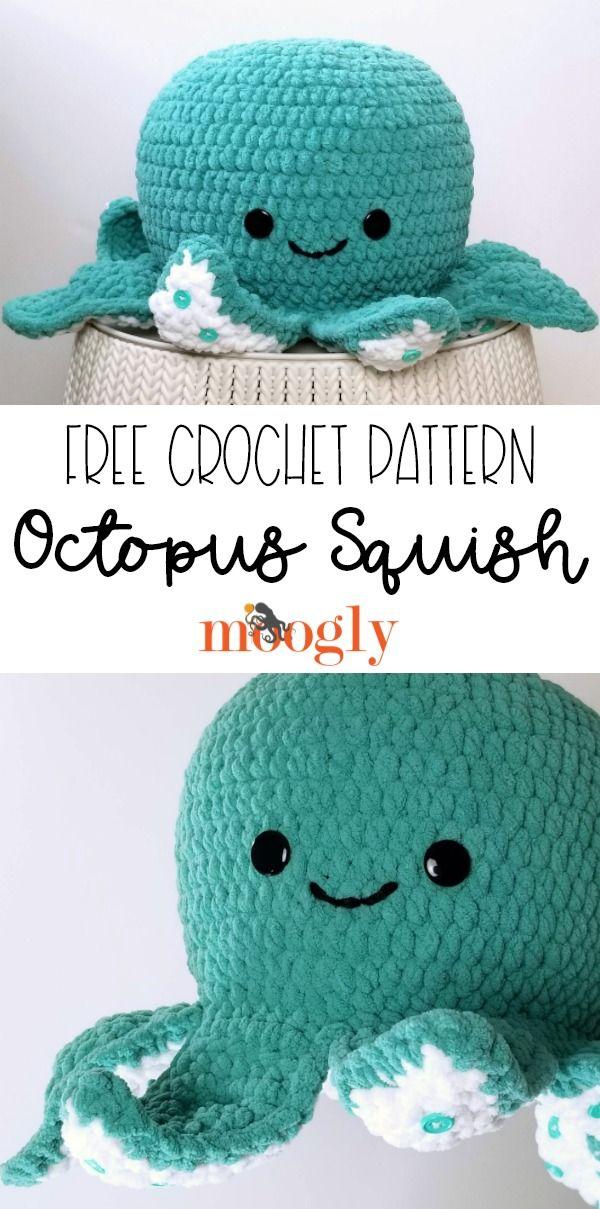 Octopus Squish In 2020 Free Crochet Pattern Crochet Patterns