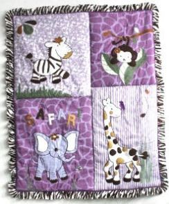 purple baby bedding sets for girls | set of baby giraffe nursery bedding set has so many possibilities. A ...