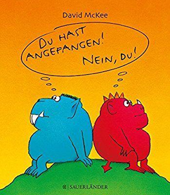 Du hast angefangen - Nein du! Mini-Ausgabe Popular Fiction: Amazon.de: David McKee: Bücher