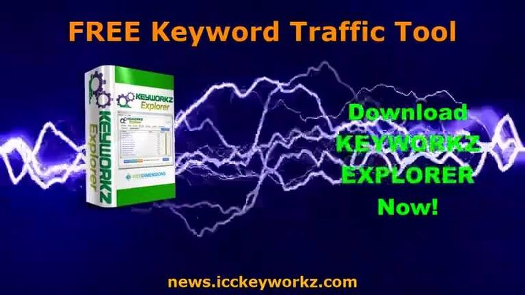 Free Keyword Traffic Tool SEO Keyword Software and Keyword Idea Tool Keyworkz Explorer Download Now https://www.facebook.com/seolunatic/videos/1182669505202525/ Keyworkz Explorer is a free keyword traffic tool that you'll want to keep among your free SEO tools for your website. Get it at https://news.icckeyworkz.com - If you want to learn how to do keyword research for free, definitely sign up for this SEO keyword software and the free keyword training that comes with it.     With our free…