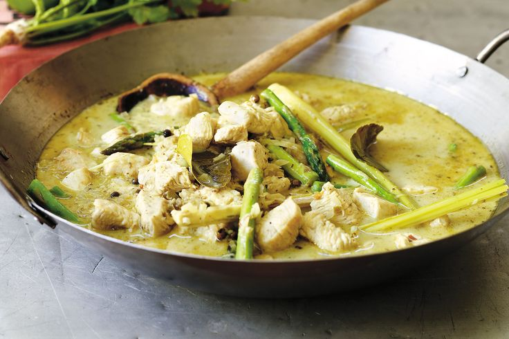 Add some spice to dinner with this creamy Thai chicken curry. It's makes great leftovers too.