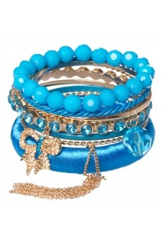 Bangle with chain tassle, AU$14.95, from Colette by Colette Hayman, Australia.