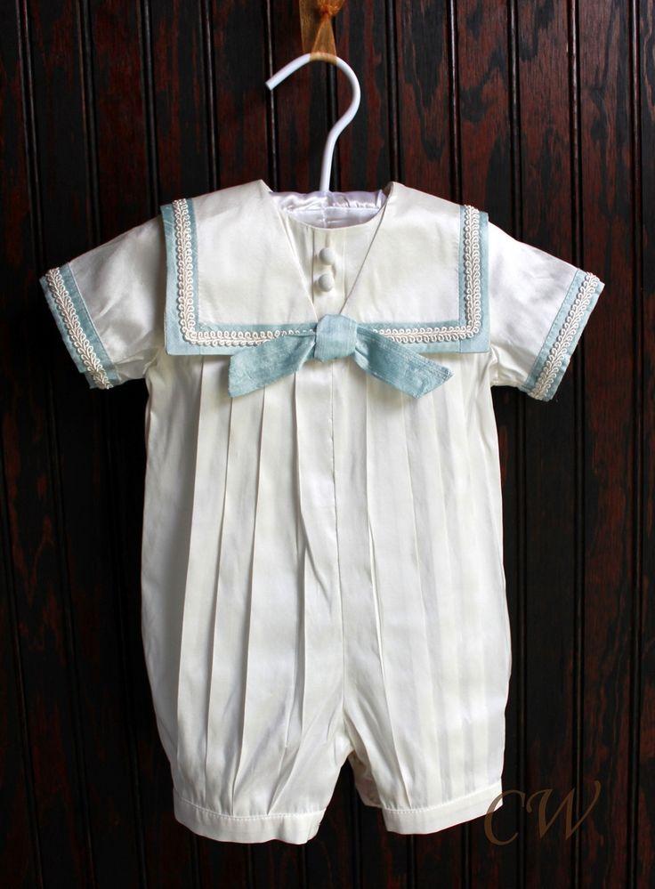 Alexander Boys Christening Sailors Outfit - Christening Wardrobe