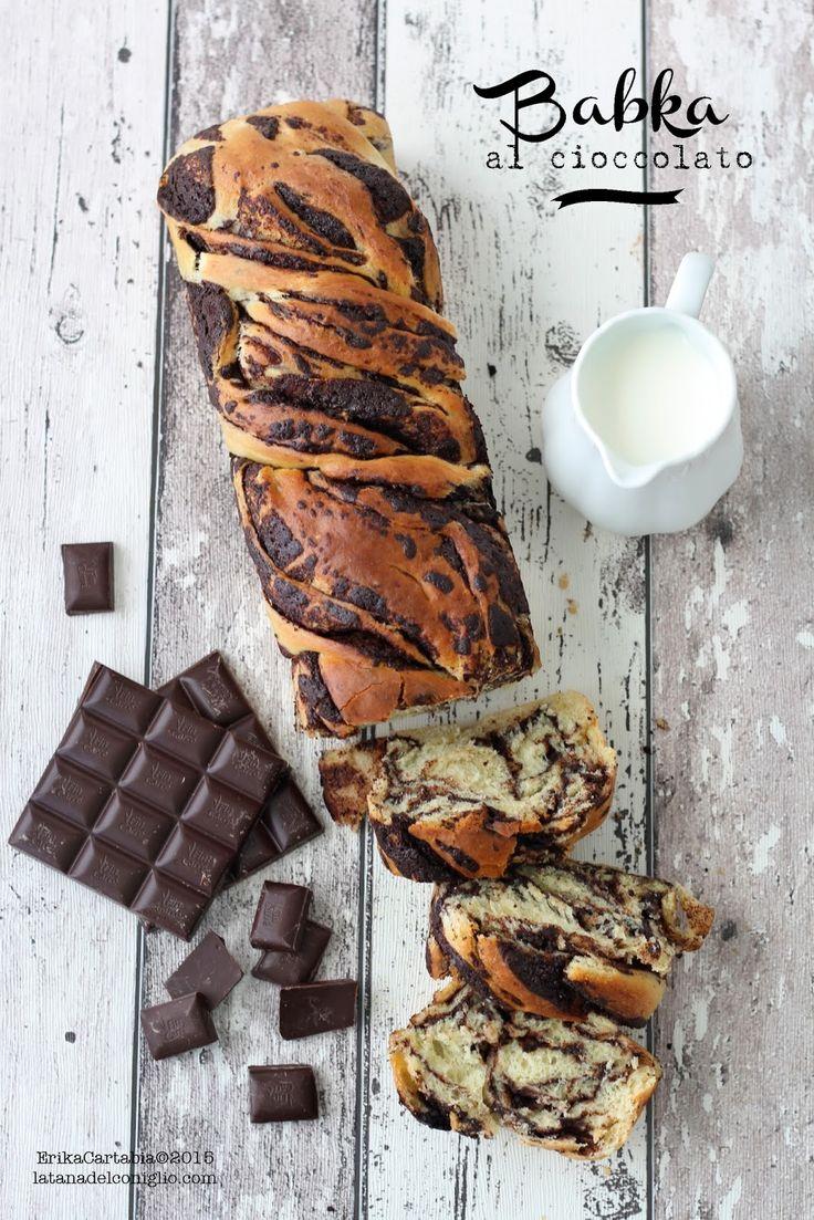 La tana del coniglio: Babka al cioccolato