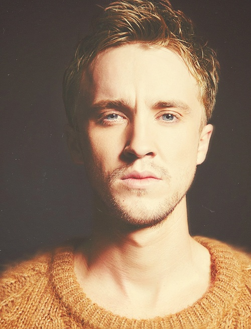 feel free to Slytherin my bed any time... Tom Felton