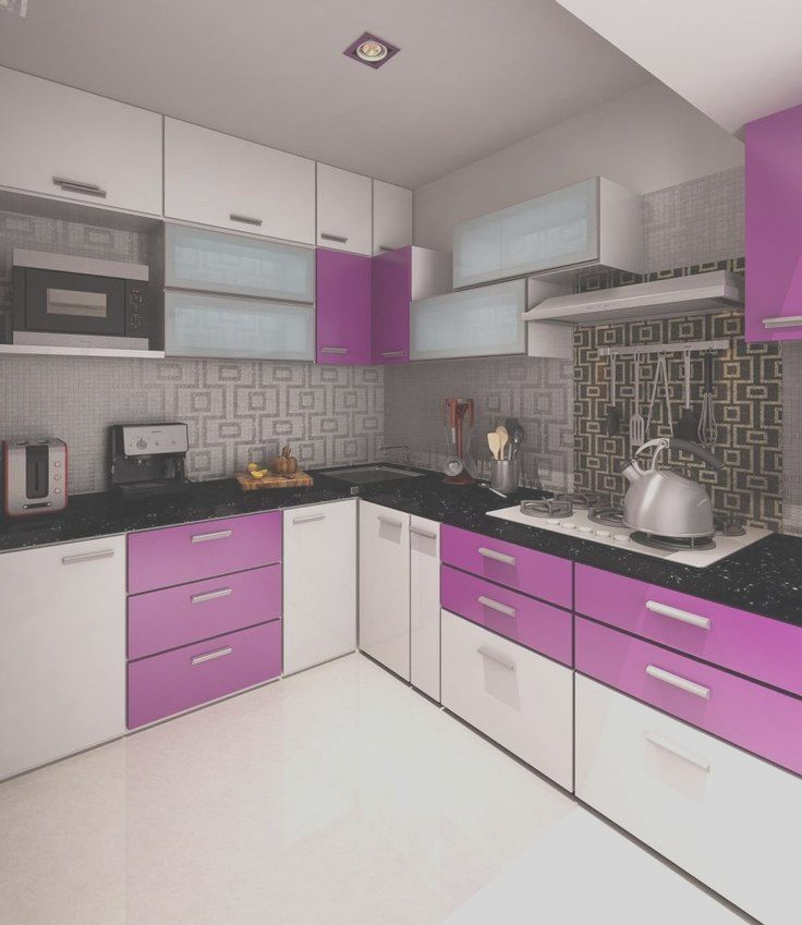 11 Satisfying Purple Decor Kitchen Photos In 2020 Black Kitchen Decor Kitchen Furniture Design Kitchen Cupboard Designs