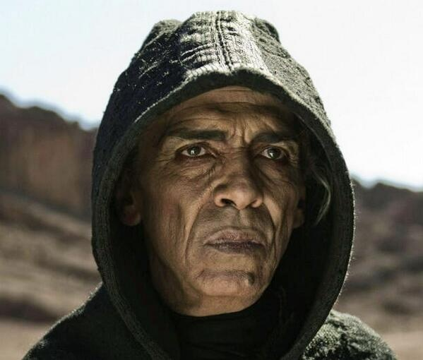 History Channel's Satan Looks A Lot Like Barack Obama - Come on History Channel really? Really? I don't like Obama but come on! Ridiculous!