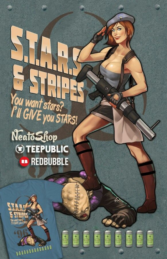 Stars and stripes by ninjaink RE3