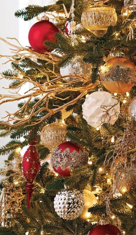 Matte Burgundy Mini Antique Ornaments Set Of Six