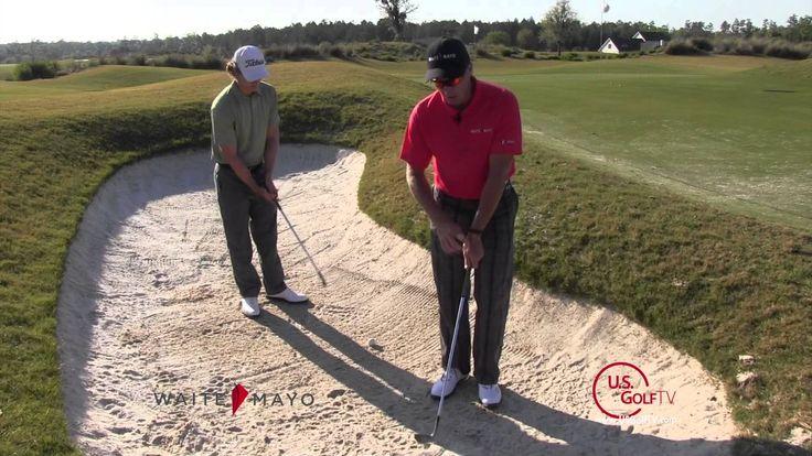 Golf Video Tip:  Hitting a High Soft Bunker Shot