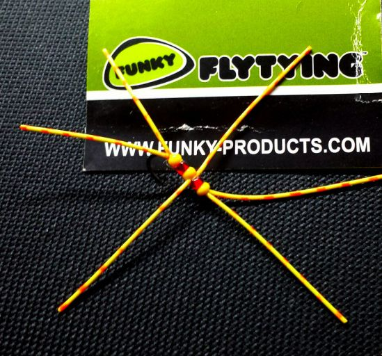 Ronsfishing Funky Fly Tying Barred Rubber.