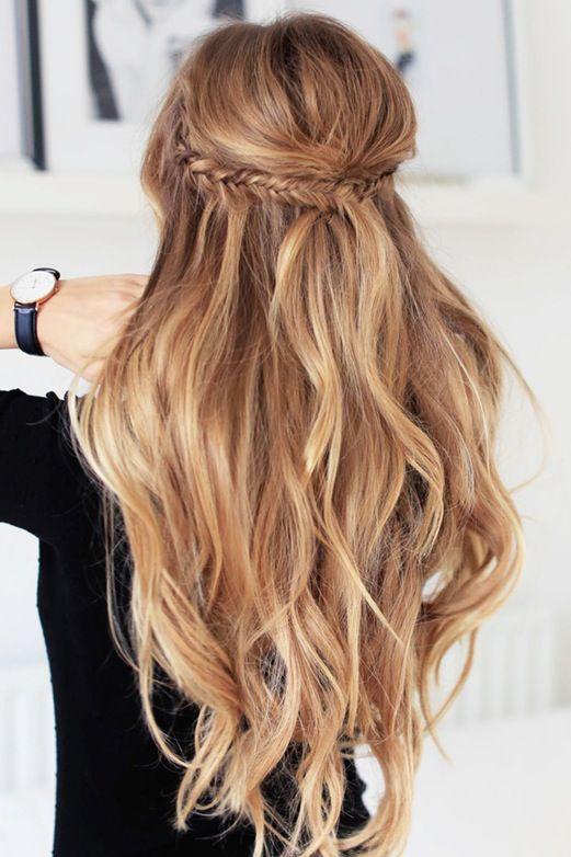 Cool 25 Best Ideas About Spring Hair On Pinterest Messy Medium Hair Short Hairstyles For Black Women Fulllsitofus