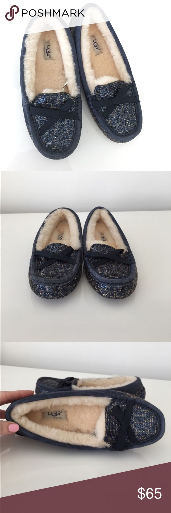 UGG SPARKLE SLIPPER NWT SIZE 6 Brand new UGG Australia Rylee slipper size 6.   Retail is $120 UGG Shoes Slippers