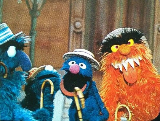and (Frank and Grover Herry  Monster Oz) Monster Cookie