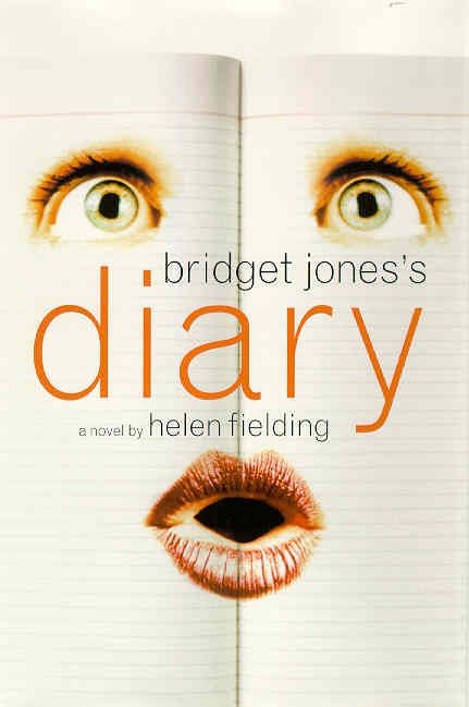 These books are hysterical, the movies, not so much.  Bridget writes in her diary drunk and ;dkligjid...oopps tobvbpled over...!