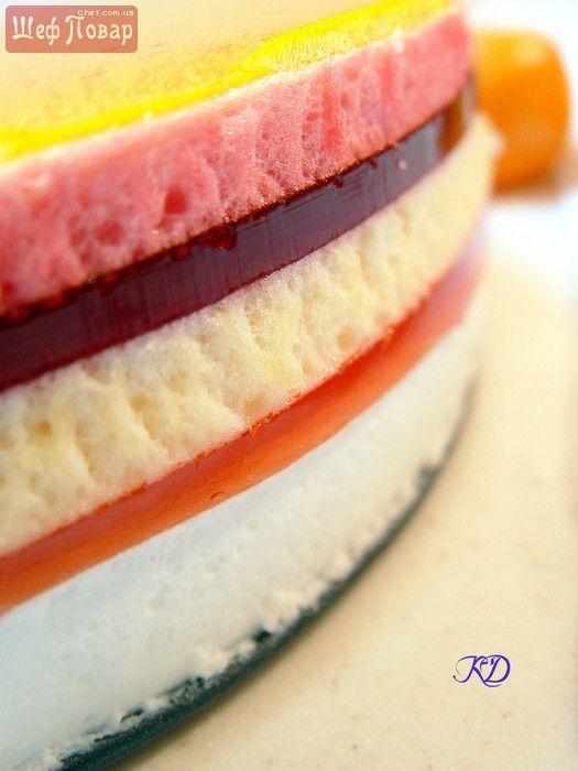 Торт из желе \