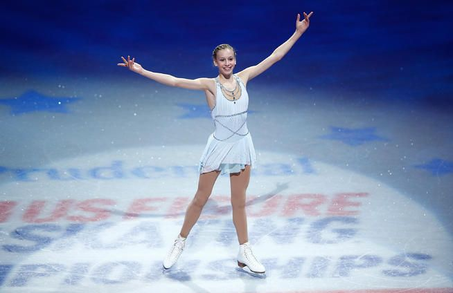 15 year old Polina Edmunds will represent the US figure skating team!