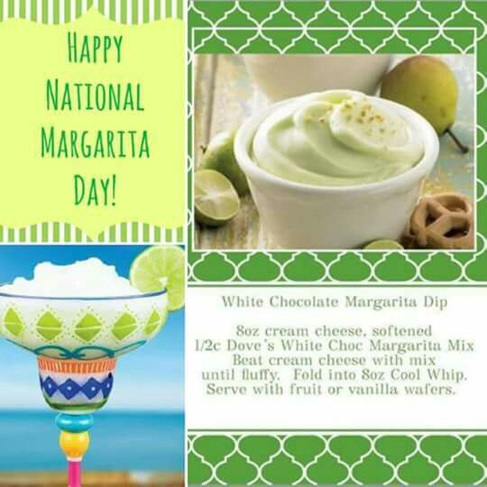 White Chocolate Margarita Dip From Dove Chocolate Discoveries