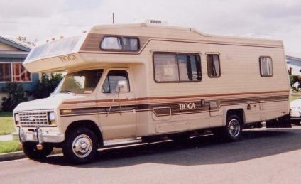 1985 Tioga. Class C Motorhome. With the 390 cid v8, auto tranny. Ice cold a/c, Owin generator.